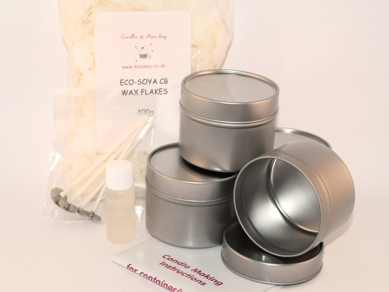 Candle Making Kit Tins Candles Miss Soy