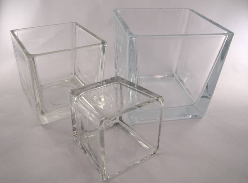 Perfect Glass Cubes