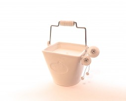 white porcelain secret garden bucket garden