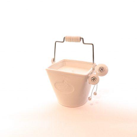 white porcelain secret garden bucket garden