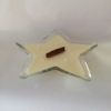 glass star candle
