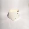 white porcelain diamond cube